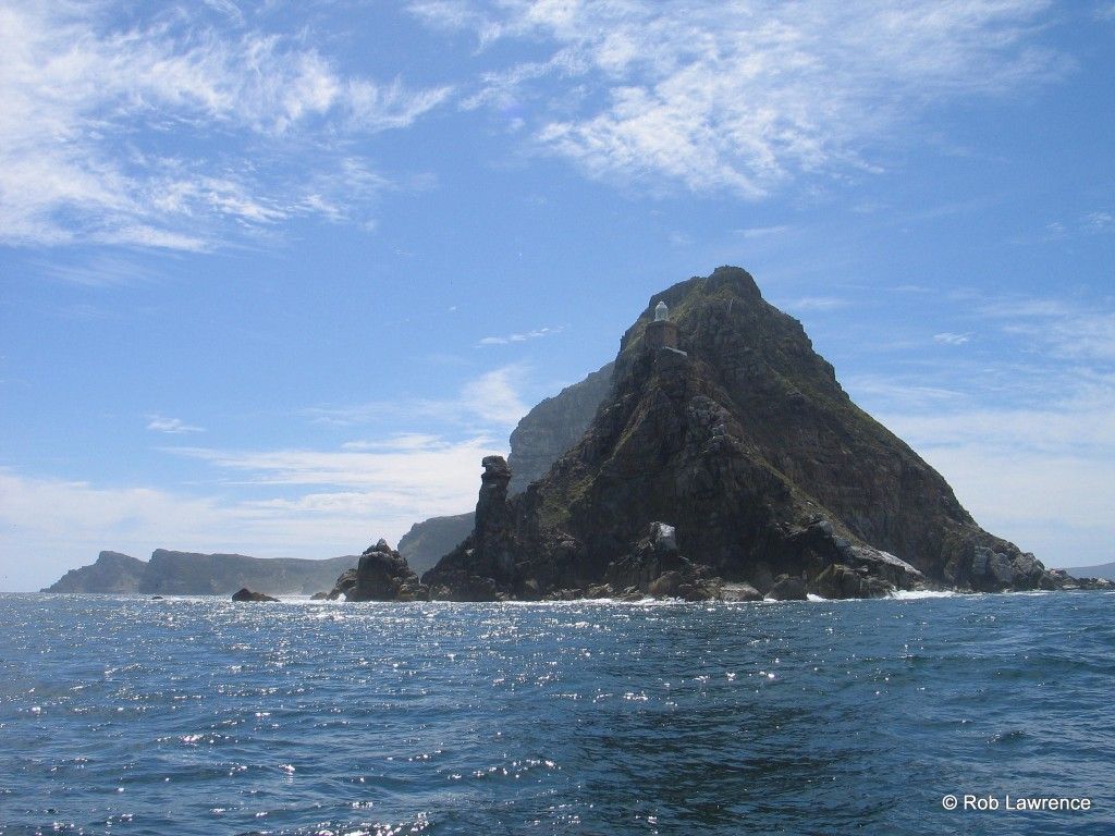 Spectacular views of Cape Point from the water