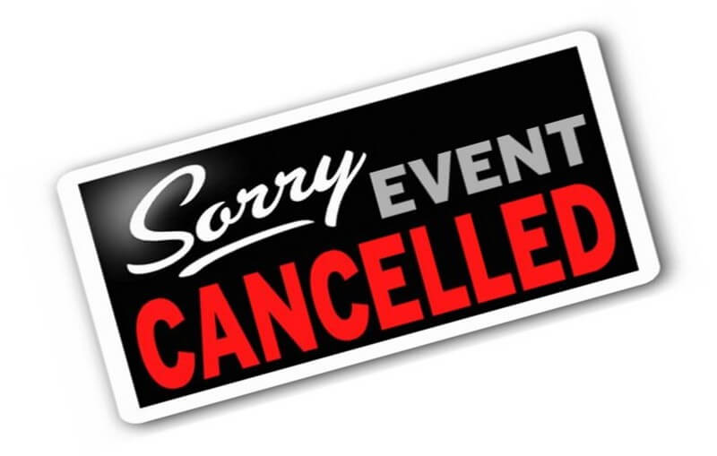 Event cancelled clip art
