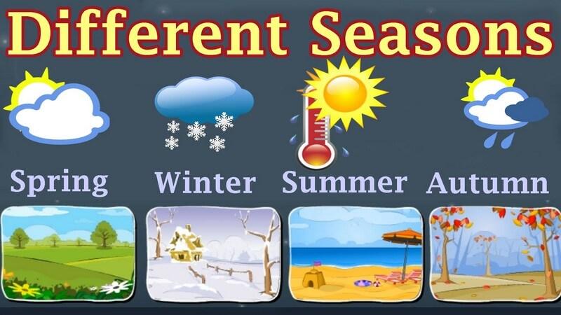 Different season in picture